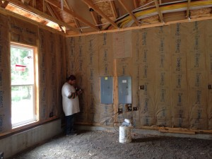 Home Insulation project in Portland